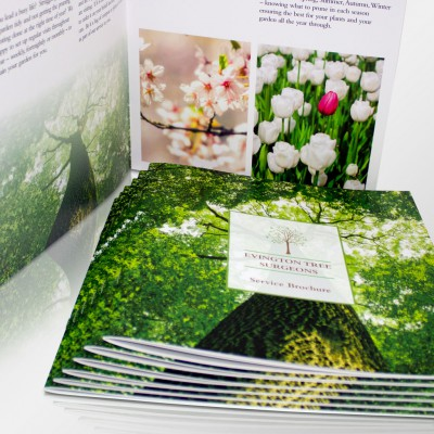 Saddle Stitched Brochures